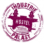 Industriepalast Hostel Berlin логотип отеляhotel logo
