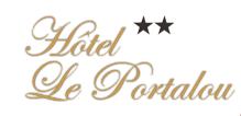 Hotel Le Portalou hotel logohotel logo