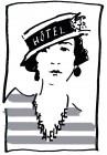 Hôtel Riviera Elysées Paris hotel logohotel logo
