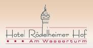 Hotel Rödelheimer Hof - Am Wasserturm Hotel Logohotel logo
