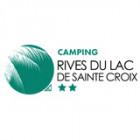 Logo de l'établissement Camping Rives du Lac de Sainte Croixhotel logo