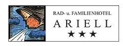 Rad- und Familienhotel Ariell Hotel Logohotel logo