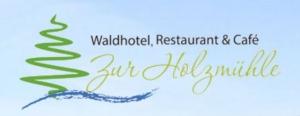 Waldhotel und Café Zur Holzmühle Hotel Logohotel logo