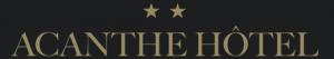 Acanthe Hôtel hotel logohotel logo