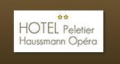 Logo de l'établissement Hôtel Peletier Haussmann Opérahotel logo