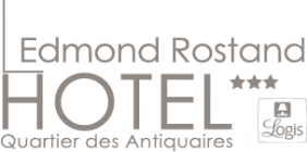 Logo de l'établissement Hôtel Edmond Rostandhotel logo