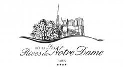 Logótipo do hotel Hôtel Les Rives de Notre Damehotel logo