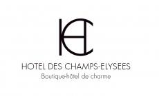 Hôtel des Champs Elysées hotel logohotel logo