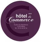 Logo de l'établissement Hôtel du Commercehotel logo
