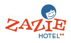 Logo de l'établissement Zazie Hôtelhotel logo