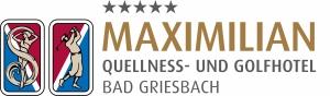 MAXIMILIAN***** Quellness- und Golfhotel Hotel Logohotel logo