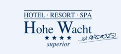 Hotel * Resort * Spa * Hohe Wacht Hotel Logohotel logo