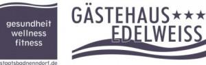 Gästehaus Edelweiss Hotel Logohotel logo