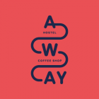Away Hostel & Coffee Shop hotel logohotel logo