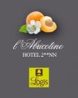Hôtel L'Abricotine hotel logohotel logo