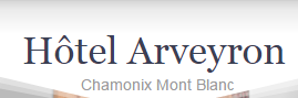 Hotel De L'Arveyron hotel logohotel logo