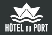 Hotel Restaurant du Port hotel logohotel logo