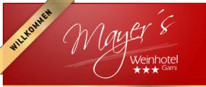 Weinhotel Mayer Hotel Logohotel logo