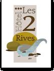 Hôtel*** Restaurant Les 2 Rives Logis hotel logohotel logo