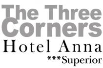 The Three Corners Hotel Anna *** superior Hotel Logohotel logo