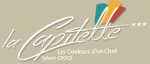 Hôtel*** La Capitelle hotel logohotel logo