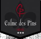 Logo de l'établissement Le Calme des Pinshotel logo