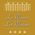 Le Manoir les Minimes**** hotel logohotel logo