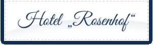 Hotel Rosenhof Hotel Logohotel logo
