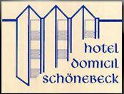 Hotel Domicil Schönebeck Hotel Logohotel logo
