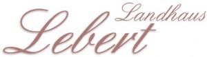 Landhaus Lebert Hotel Logohotel logo