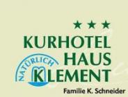 Kurhotel Haus Klement Hotel Logohotel logo