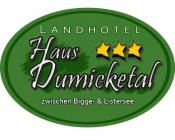 Landhotel Haus Dumicketal Hotel Logohotel logo