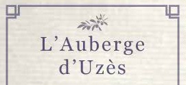 L'Auberge d'Uzès hotel logohotel logo