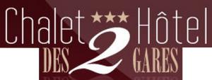 Hôtel Des Deux Gares hotel logohotel logo