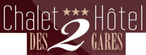 Hôtel Des Deux Gares شعار الفندقhotel logo