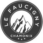 Le Faucigny логотип отеляhotel logo