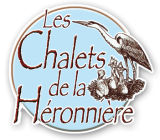 Logo de l'établissement Les Chalets de la Héronnièrehotel logo