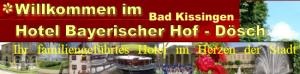 Hotel Bayerischer Hof (Bad Kissingen) Hotel Logohotel logo