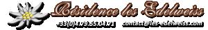 Logo de l'établissement Résidence les Edelweisshotel logo