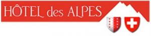 Hôtel Des Alpes logotipo del hotelhotel logo