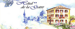 Logo de l'établissement Hôtel de la Garehotel logo