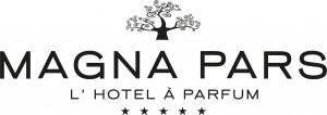 Magna Pars L'Hotel à Parfum logotipo del hotelhotel logo