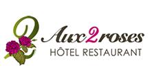 Logo de l'établissement Hotel  Restaurant Aux Deux Roseshotel logo