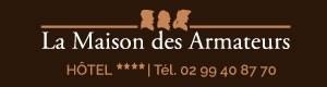 Hôtel La Maison des Armateurs hotel logohotel logo