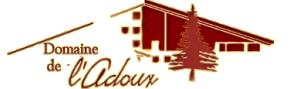 Logo de l'établissement Domaine de l'Adouxhotel logo