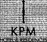 KPM Hotel & Residences hotel logohotel logo