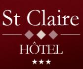 Hotel Saint Claire hotel logohotel logo