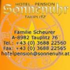 Hotel-Pension Sonnenuhr Hotel Logohotel logo