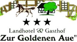 Landhotel & Gasthof Zur Goldenen Aue Hotel Logohotel logo