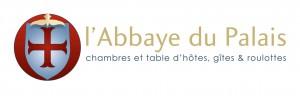 hotellogo l'Abbaye du Palaishotel logo
